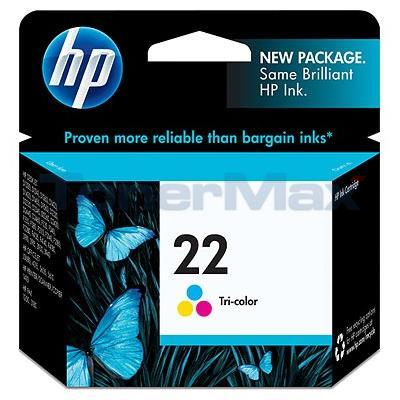 HP NO 22 INK TRI-COLOR